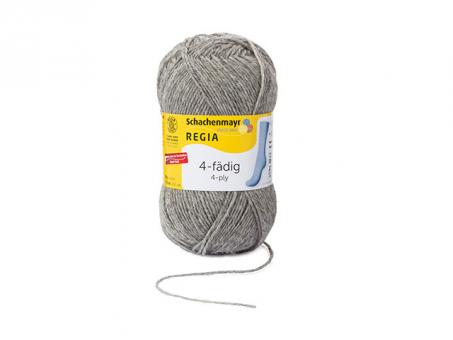 Regia Sockenwolle 4fädig - Flanell mel.