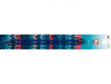 Prym Kinderstricknadeln KST 17 cm 3,50 mm blau