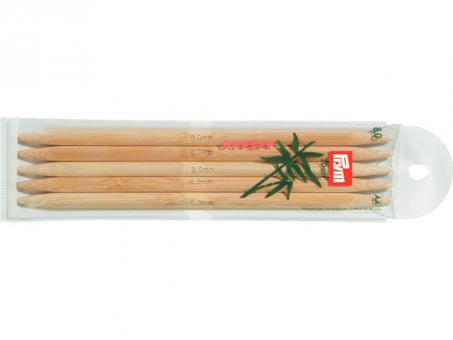Prym Strumpfstricknadeln Bambus - 8,00mm