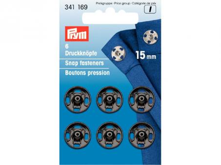 Prym Annähdruckknöpfe MS - 15mm