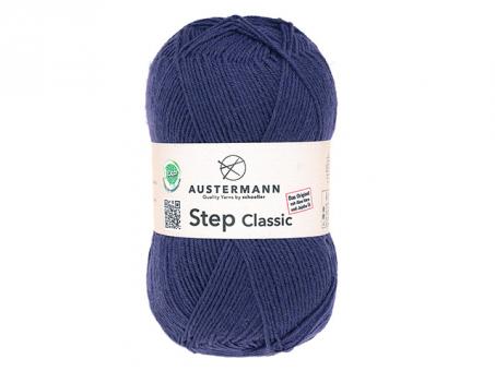 Step Classic Sockenwolle - Lila lila