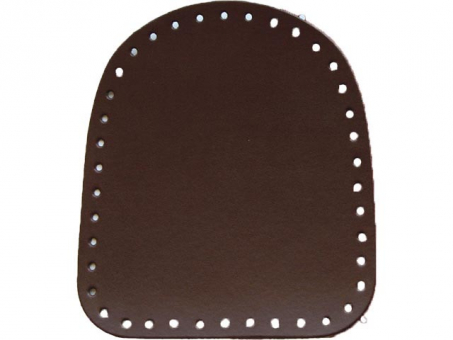 Taschen-Seitenteile Superlux paarweise 18x20cm -dunkelbraun