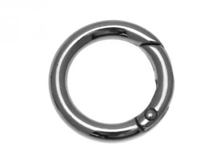 Karabiner Ringe-silberfarbig Ø 26mm