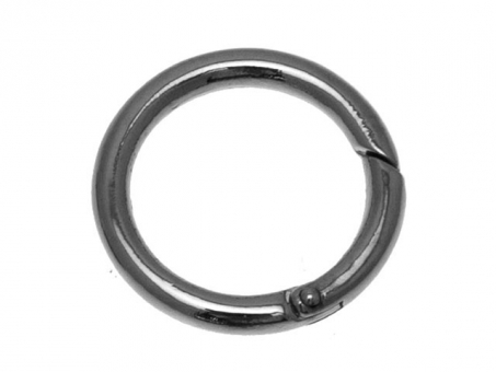 Karabiner Ringe-silberfarbig Ø 35mm