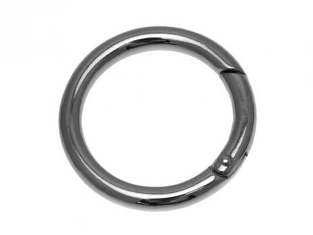 Karabiner Ringe-silberfarbig Ø 40mm