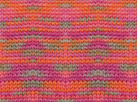 Katia (Print) - Orange-Korallen-Fuchsia-Braun Orange-Korallen-