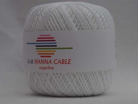 Hanna Cable - Weiß weiß