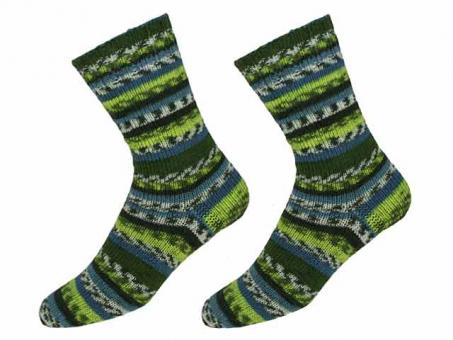 """KKK Sockenwolle """"Sensitive Socks"""" für Wollallergiker - Grüntöne"""