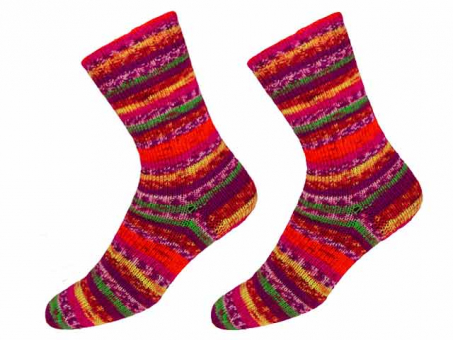 "KKK Sockenwolle ""Sensitive Socks"" für Wollallergiker -  Clown"