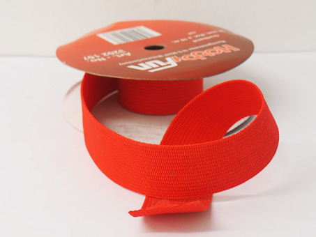 Gurtband 25mm (Polyester) - Orange