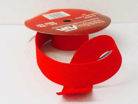 Gurtband 25mm (Polyester) - Rot
