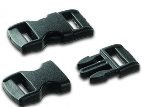 Steckschnalle- .schwarz-11 - 14mm-