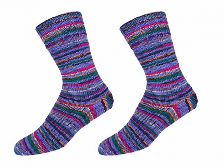 "KKK Sockenwolle ""Sensitive Socks"" für Wollallergiker - Fliedertöne"