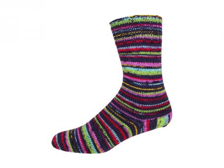 Sockenwolle Sensitive Socks schwarz-grün-türkis