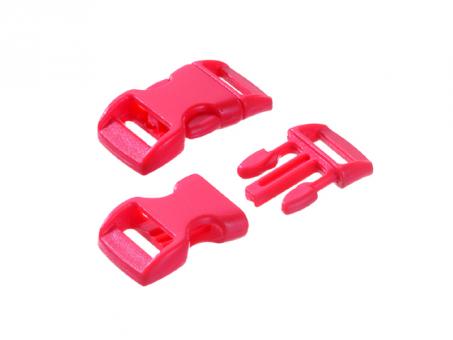 Steckschnalle-rot--16 - 20 mm-