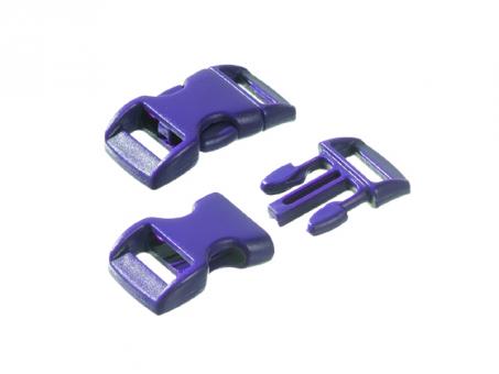 Steckschnalle-lila--16 - 20 mm-