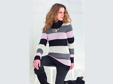 Anleitung  Kid Silk Pullover Modell 26
