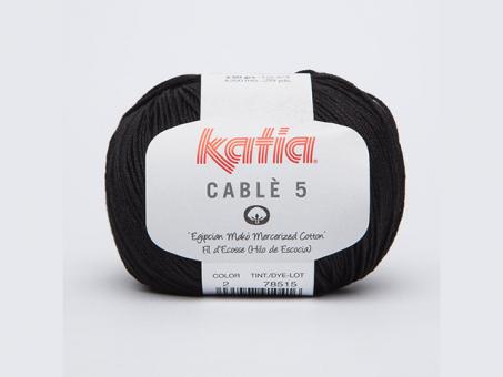 Cable 5 - Schwarz schwarz