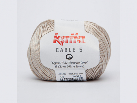 Cable 5 - Beige (Hell) Beige