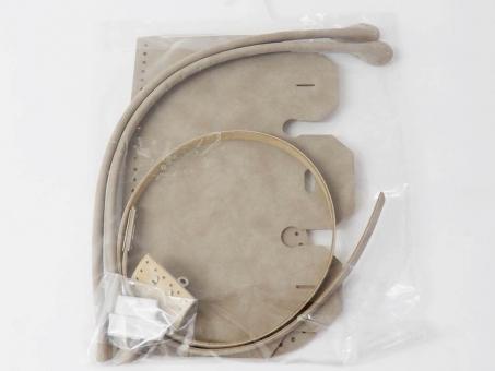Taschenzubehör-Set - Helltaupe