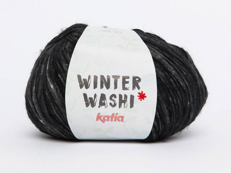 WINTER WASHI schwarz