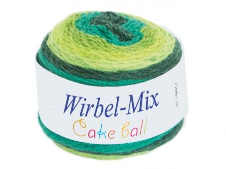Wirbel Mix (Cake Ball) - Grüntöne grüntöne