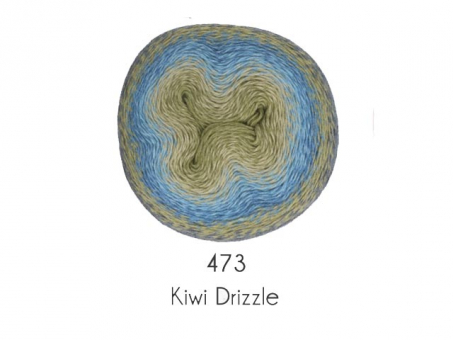 Scheepjes Woolly Whirl - Kiwi Drizzle