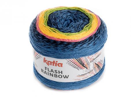Flash Rainbow - Blau-Gelb