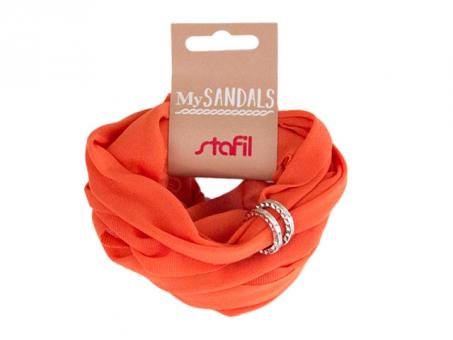 MySANDALS Sandalenband - Orange