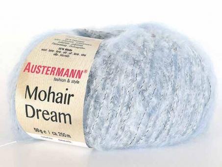 Mohair Dream - Eisblau