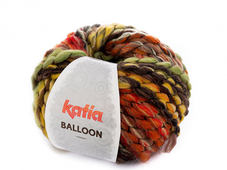 Balloon - Rostrot-Grün-Gelb Rostrot-Grün-Gel