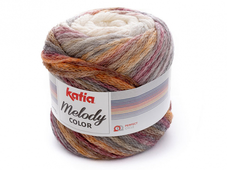 MELODY COLOR naturweiss-rot
