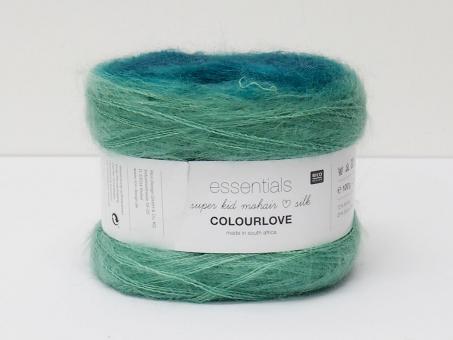Essentials Super Kid Mohair Silk (Colourlove) - Grün-Smaragd