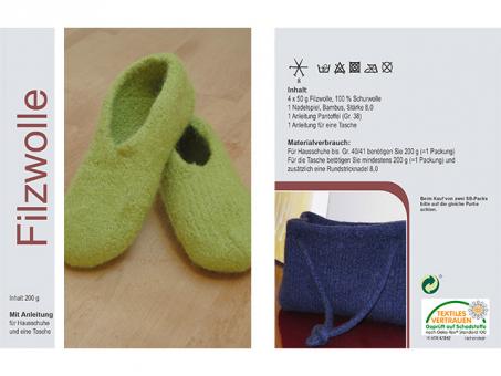 Fillzwollset - Grasgrün grasgrün