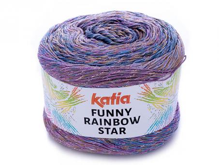 Funny Rainbow Star - Lila-Rosé-Malve Lila-Rosé-Malve