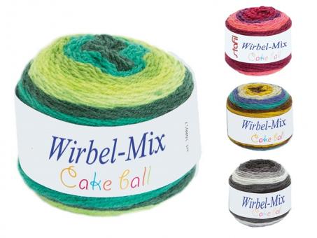 Wirbel-Mix Farbverlaufgarn
