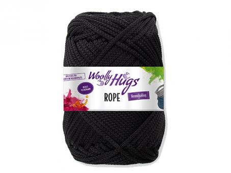 Woolly Hugs Rope Schwarz