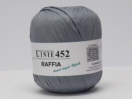 Raffia Linie 452 grau