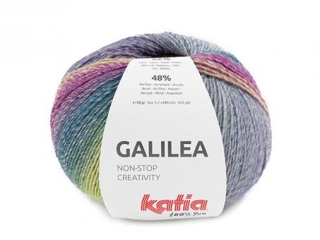 GALILEA blaulilagelb