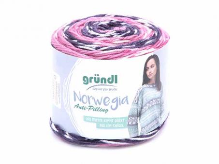 Norwegia .lila-rosa