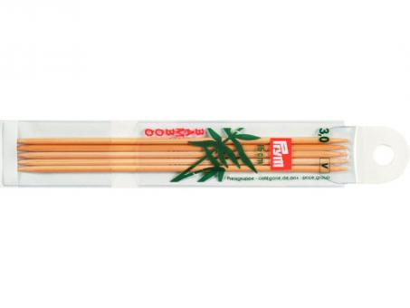 Prym Strumpfstricknadeln Bambus - 3,00mm