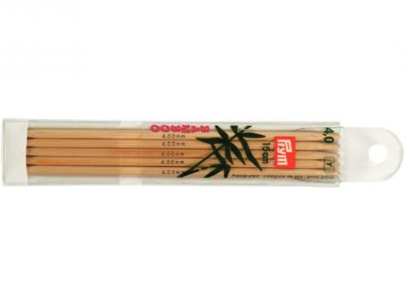 Prym Strumpfstricknadeln Bambus - 4,00mm