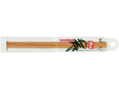 Prym Strumpfstricknadeln Bambus - 2,00mm