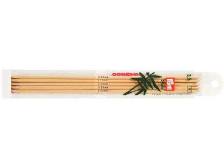 Prym Strumpfstricknadeln Bambus - 3,50mm