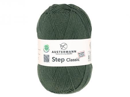 Step Classic Sockenwolle - Moos