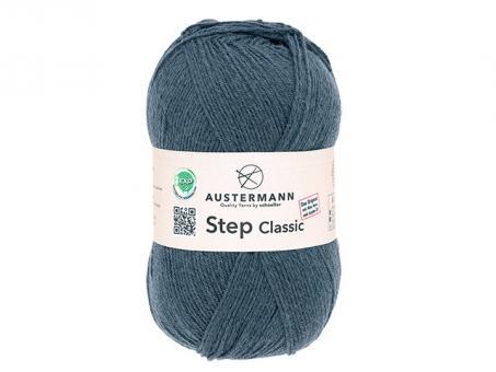 Step Classic Sockenwolle - Stein
