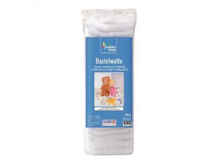 Bastelwatte weiss 100g-