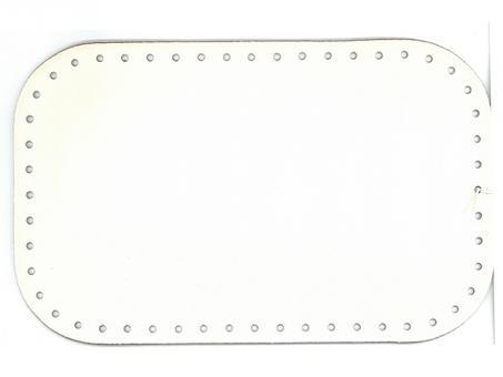 Taschenboden Ecoline 18x28cm-weiß