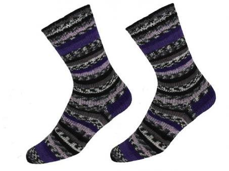 "KKK Sockenwolle ""Sensitive Socks"" für Wollallergiker -  Lilatöne"