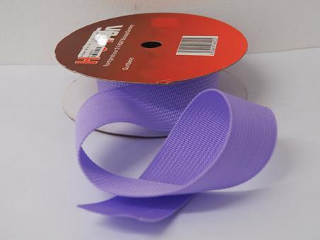 Gurtband 25 mm, pro meter, flieder